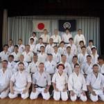 Okinawa karate Praha - seminář Japonsko