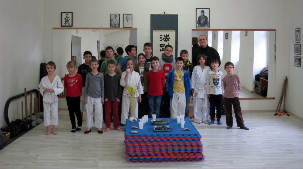 Okinawa karate Praha děti